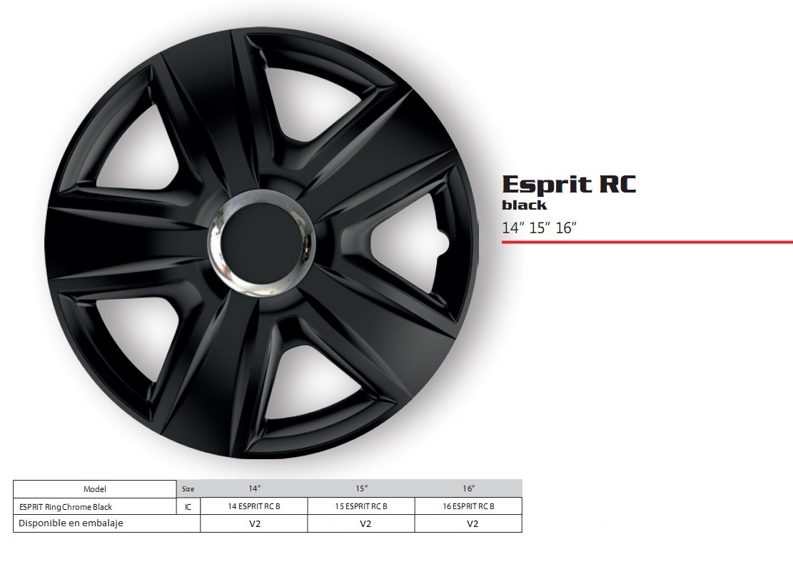 ESPIRIT RC BL 14,15,16