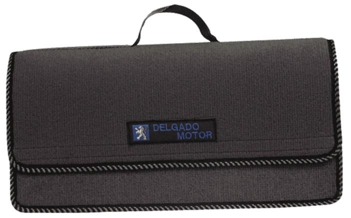 Personalización de maletines con distintos logos y marcas, en distintos colores y ribetes